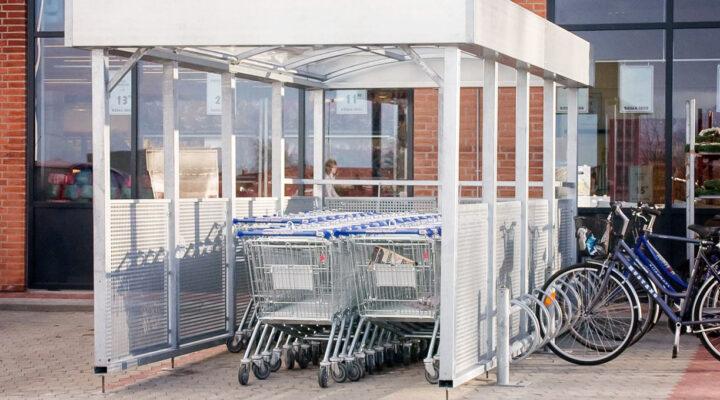 TROLLEY Einkaufswagenüberdachung
